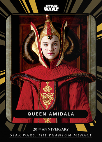 2019 Topps On-Demand Star Wars The Phantom Menace 20th Anniversary Base Padme Amidala