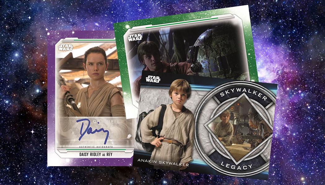 2019 Topps Star Wars The Skywalker Saga Checklist Trading Cards Info