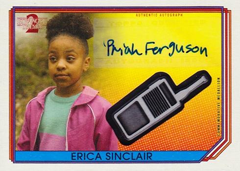 2019 Topps Stranger Things Series 2 Autograph Commemorative Medallion Priah Ferguson
