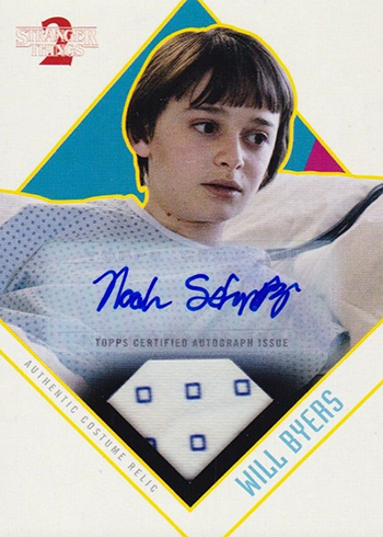 2019 Topps Stranger Things Series 2 Autograph Relics Noah Schnapp