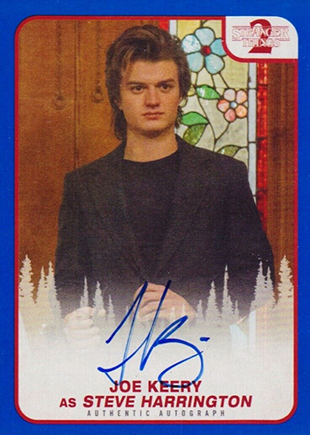 2019 Topps Stranger Things Series 2 Autographs Blue Joe Kerry