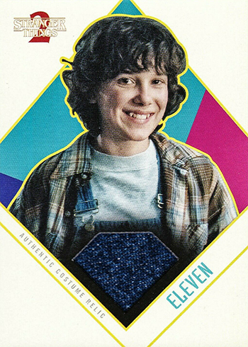 2019 Topps Stranger Things Series 2 Costume Relic Eleven