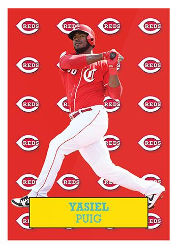2019 Topps TBT Baseball 90 Yasiel Puig