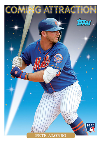 2019 Topps Throwback Thursday Baseball 80 Pete Alonso