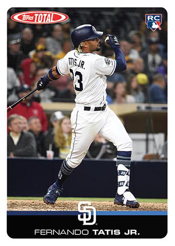 2019 Topps Total Baseball Fernando Tatis Jr