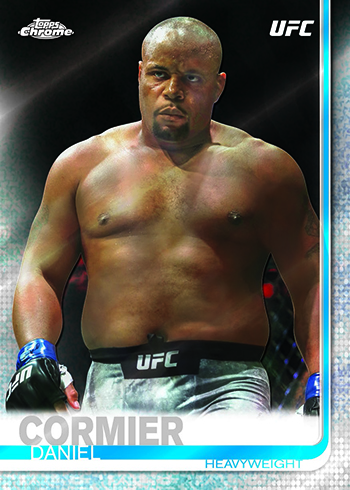 2019 Topps Chrome UFC Base