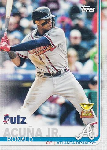 2019 Topps Utz Baseball Ronald Acuna