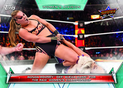 2019 Topps WWE Women's Division Base Memorable Matches