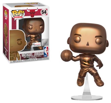 Funko POP NBA 54 Michael Jordan Bronze