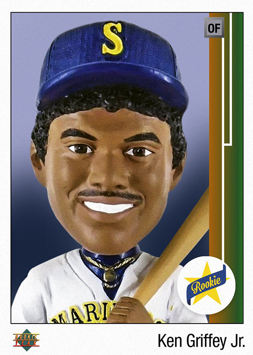 694dd2bb68 The 1989 Upper Deck Ken Griffey Jr. RC Is Becoming a Bobblehead