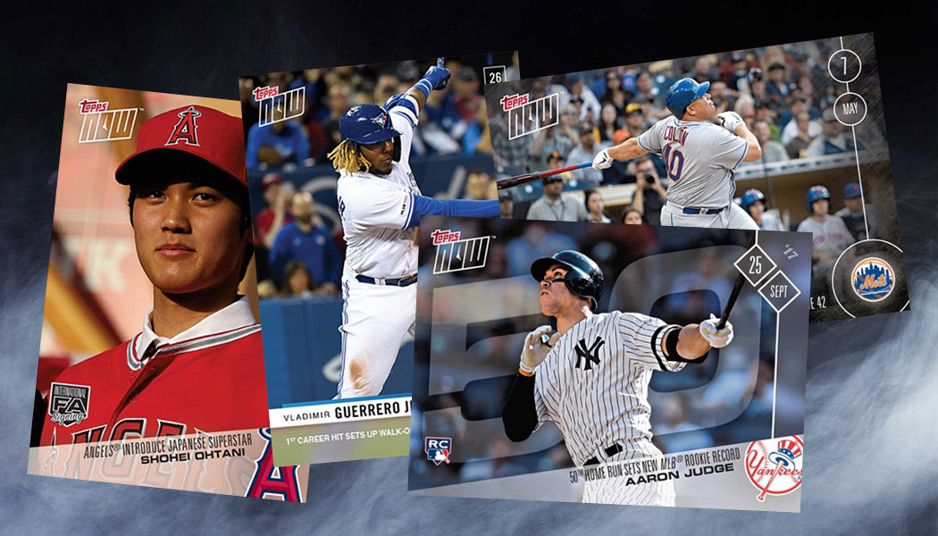Top 10 Selling Topps Now Baseball Cards
