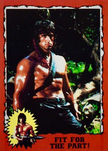 1985 Topps Rambo First Blood Part Ii Trading Cards Checklist Details