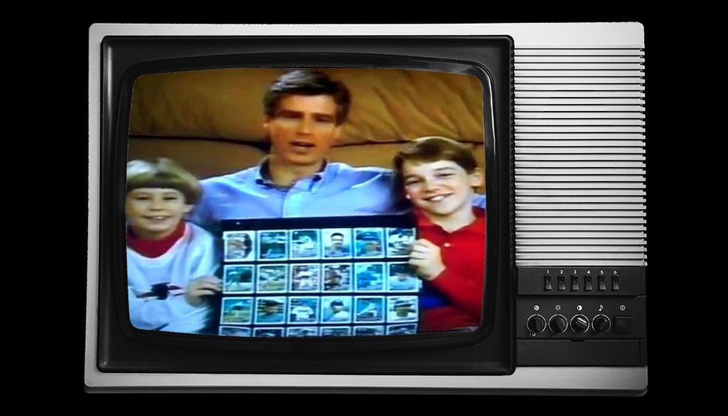 Turning Back The Clock 1989 Topps Baseball Cards Commercial