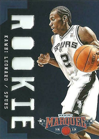 2012-13 Pacific Marquee Kawhi Leonard Rookie Card 326