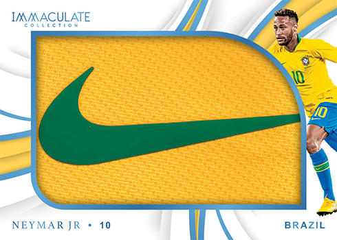 2018-19 Panini Immaculate Collection Soccer Brand Logos