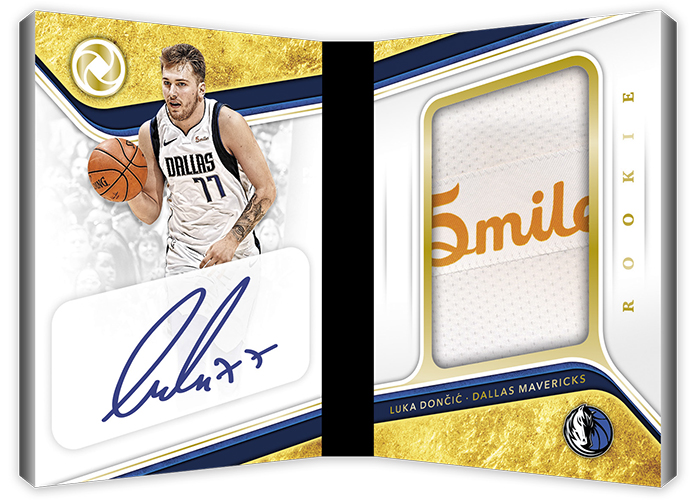 2018-19 Panini Opulence Basketball Rookie Patch Autographs Booklets Sponsor Logo