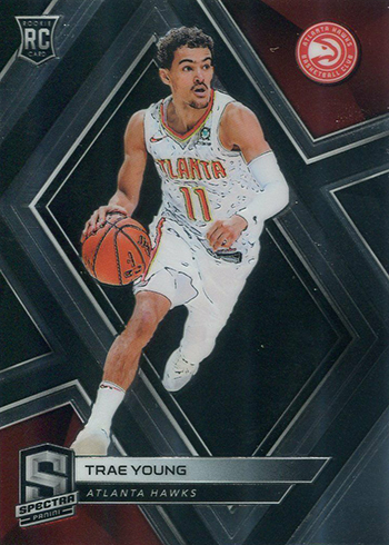 2018-19 Panini Spectra Basketball Trae Young RC