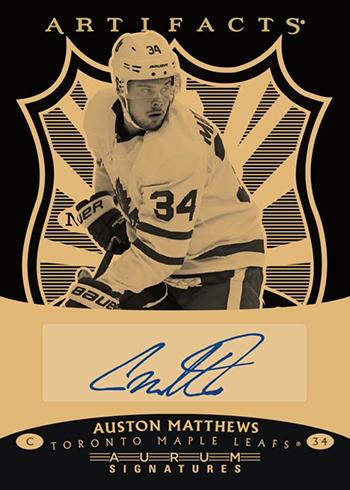 2019-20 Upper Deck Artifacts Hockey Aurum Autographs Bounty