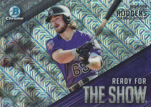 2019 Bowman Chrome Mega Box Ready for the Show Brendan Rodgers