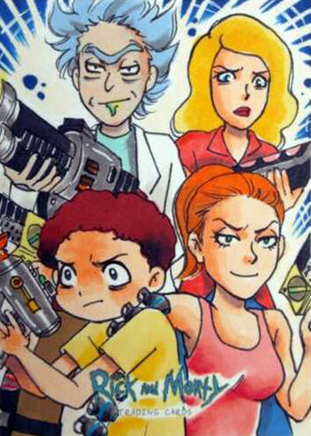 Team : Dailymotion rick and morty s02e04