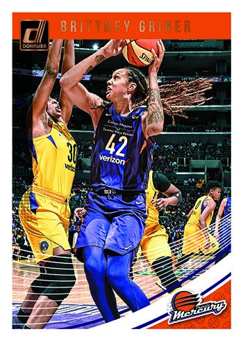2019 Donruss WNBA Basketball Base