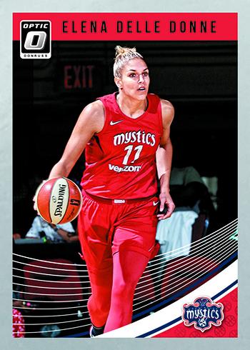 2019 Donruss WNBA Basketball Optic