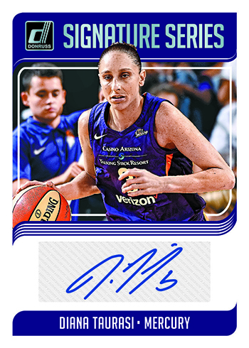 2019 Donruss WNBA Basketball Signature Series