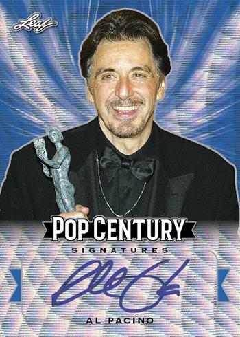 2019 Leaf Metal Pop Century Autographs Blue Wave