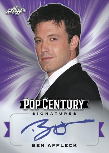 2019 Leaf Metal Pop Century Autographs Purple