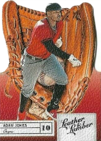 2019 Panini Leather and Lumber Adam Jones Gloves Die Cut