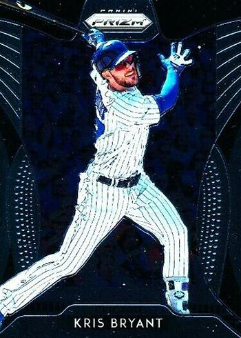 2019 Panini Prizm Baseball Kris Bryant T1