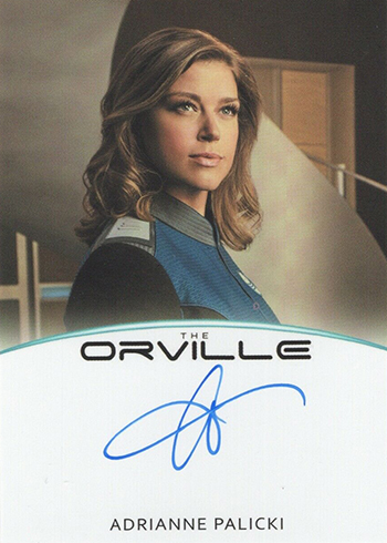 2019 Rittenhouse The Orville Season 1 Full Bleed Autographs Adrianne Palicki