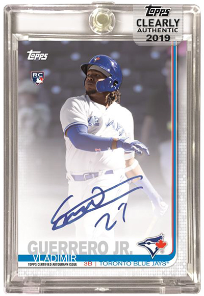2019 Topps Clearly Authentic Baseball Clearly AUthentic Autographs B