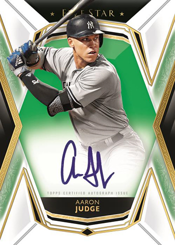 2019 Topps Five Star Baseball Base Autographs Green