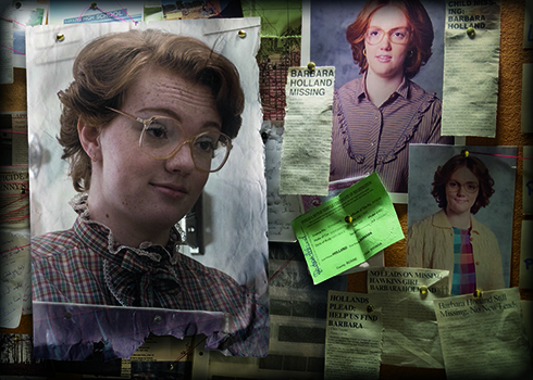 2019 Topps Stranger Things Welcome to the Upside Down Tribute to Barb