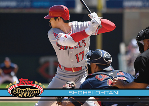2019 Topps TBT 121 Shohei Ohtani