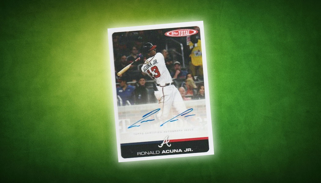 2019 Topps Total Baseball Autographs Surprise Collectors