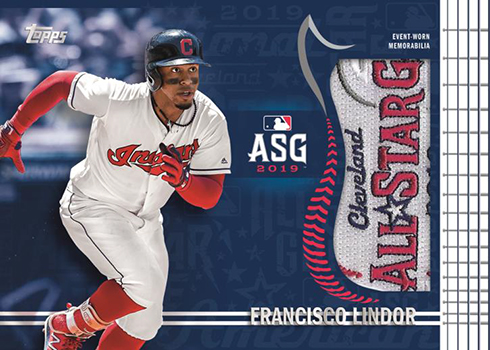2019 Topps Update Series Baseball All-Star Jumbo Patch