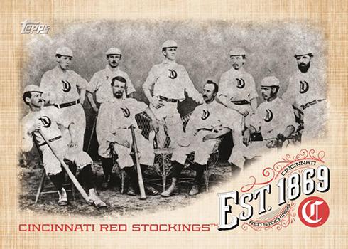 2019 Topps Update Series Baseball Established 1869