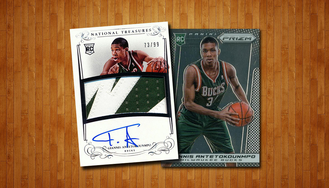 Most Valuable Giannis Antetokounmpo Rookie Cards