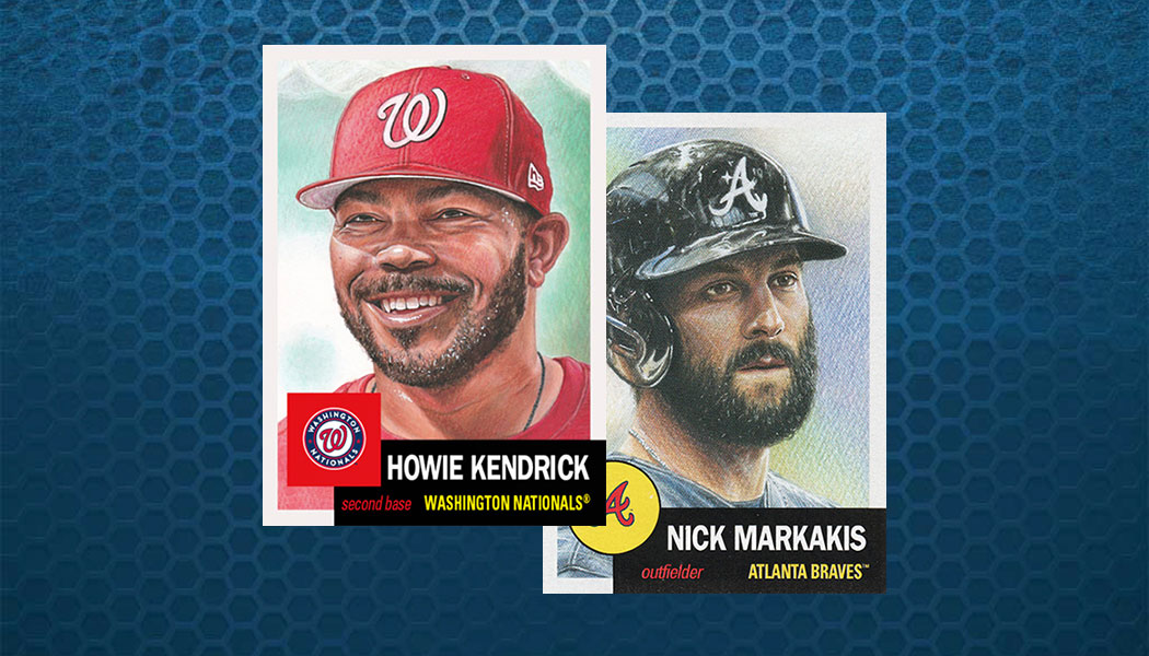 Howie Kendrick Becomes Rarest Topps Living Set Baseball Card