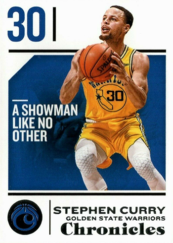 2018-19 Panini Chronicles Base Stephen Curry