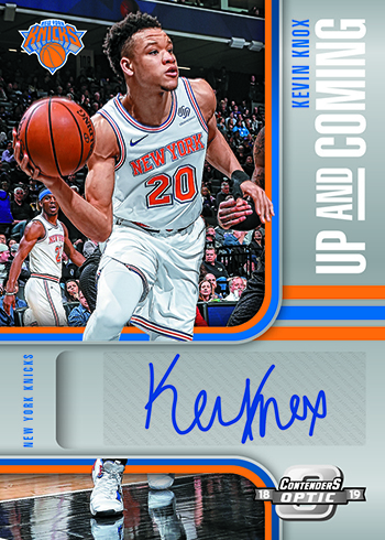 2018-19 Panini Contenders Optic Basketball Up and Coming Autographs