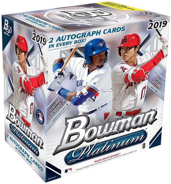 2019 HIT PARADE Baseball PLATINUM EDITION SERIES 1 Hobby Box//100 ROBINSON-TROUT