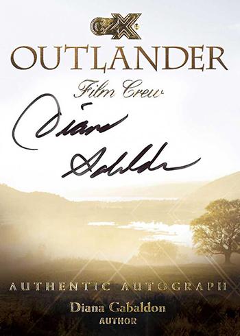 2019 Cryptozoic Outlander CZX Film Crew Autographs Diana Gabaldon