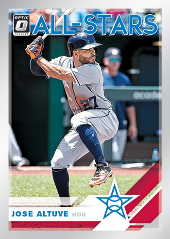 2019 Donruss Optic Baseball All-Stars