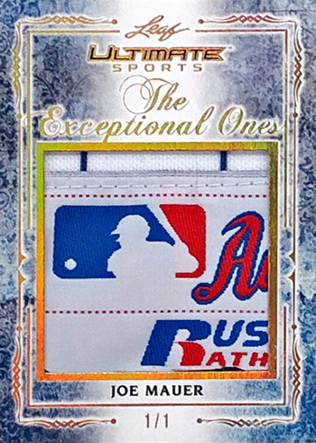 2019 Leaf Ultimate Sports The Exceptional Ones Joe Mauer