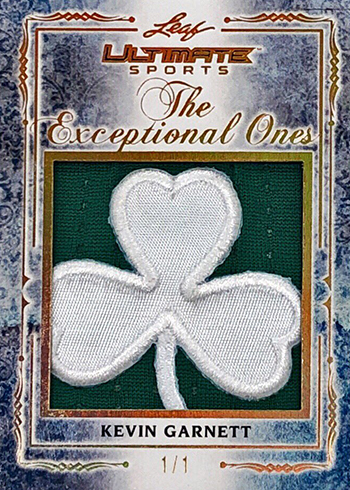 2019 Leaf Ultimate Sports The Exceptional Ones Kevin Garnett
