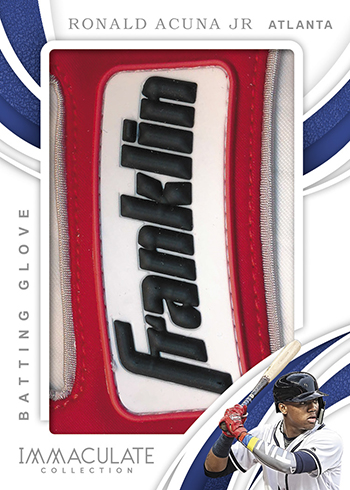 2019 Panini Immaculate Collection Baseball Immaculate Jumbo Batting Gloves