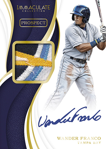 2019 Panini Immaculate Collection Baseball Prospect Patch Auto